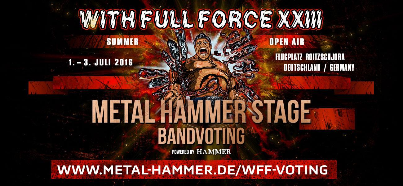 METAL HAMMER STAGE - Bandvoting