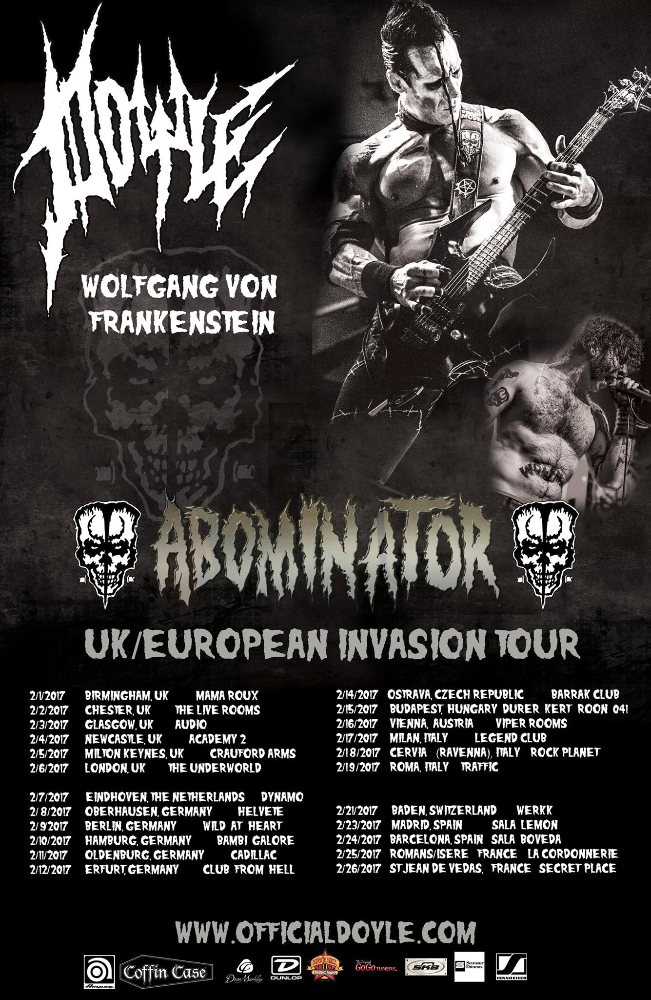 Tour-Support Doyle