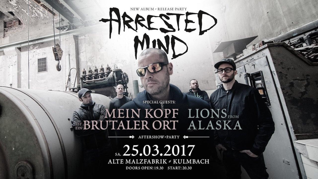 Arrested Mind - CD-Release Party