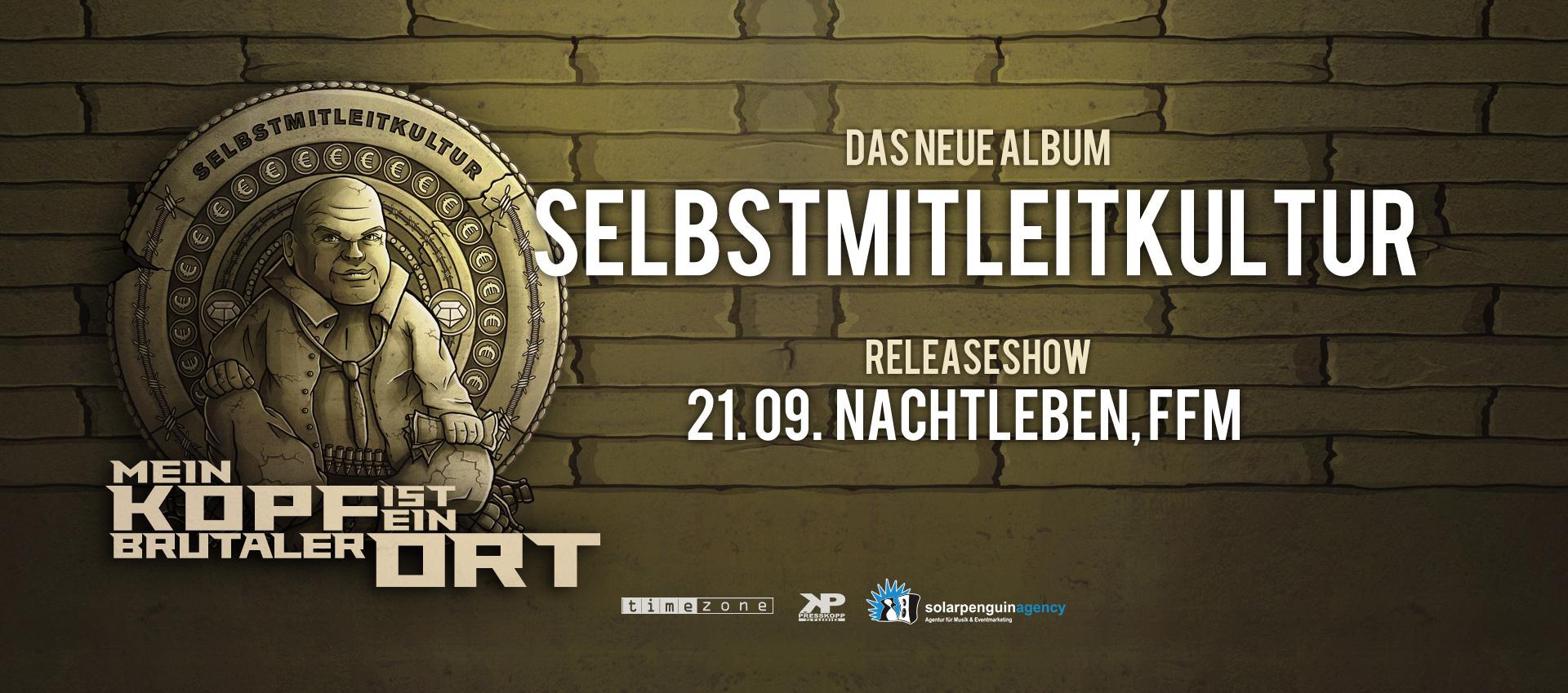Album Release Party - Nachtleben, Frankfurt